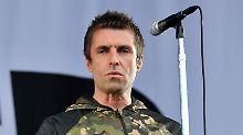 """""""Ich bin am Boden"""": Liam Gallagher bricht Auftritt ab"""