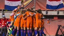 """""""Die neuen Europameisterinnen?"""": Oranje-Frauen toppen Robben und Co."""