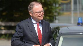 """""""Werde einer Intrige nicht weichen"""": Weil will schnelle Neuwahlen nach Twesten-Überlauf"""