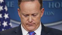 Twitter-Nutzer amüsieren sich: Sean Spicer will nicht tanzen