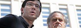 """""""Meistgehasster Mann Amerikas"""": Hedgefondsmanager Shkreli verurteilt"""