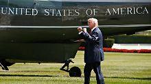 """Golfen auf eigener Anlage: Trump ist im """"Arbeitsurlaub"""""""