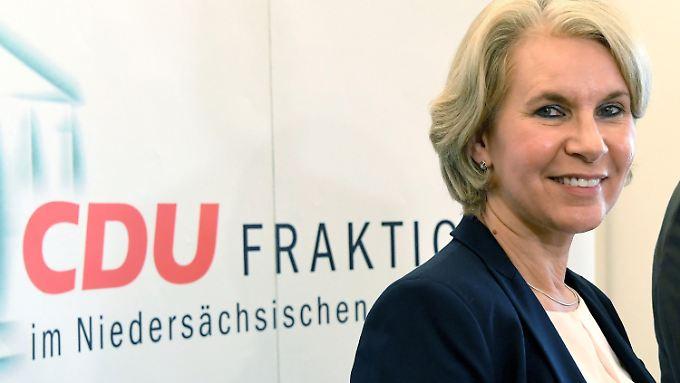 Ihr Kreisverband wollte sie nicht mehr zur Landtagswahl aufstellen: Elke Twesten.
