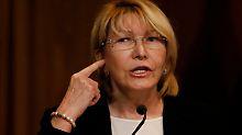 Generalstaatsanwältin abgesetzt: Maduros wichtigste Gegenspielerin entlassen