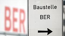 Die Bauarbeiten im Fluggastterminal des Hauptstadtflughafens BER dauern einem Zeitungsbericht zufolge noch bis September 2018.