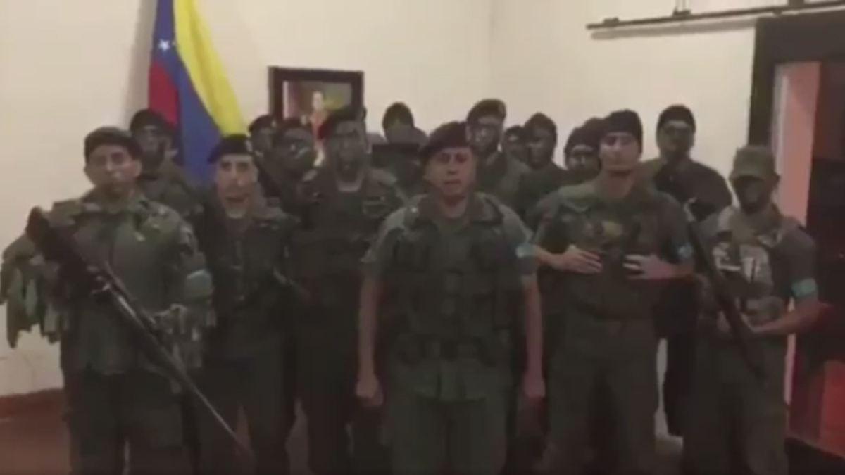 Soldaten rufen zu Putsch auf