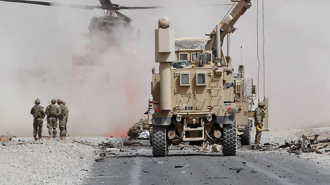 Erst vor wenigen Tagen verübten Taliban einen Selbstmordanschlag auf einen Nato-Konvoi in der Provinz Kandahar. Zwei US-Soldaten wurden getötet.