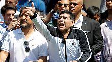 """""""Chavisten bis zum Tod"""": Maradona bietet sich Maduro an"""