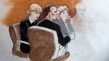 Gerichtszeichnung macht stutzig: Und das soll Taylor Swift sein?