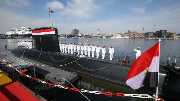 Gerade erst hat die Kieler Werft ThyssenKrupp Marine Systems ein neues U-Boot an die ägyptische Marine übergeben.