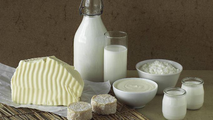 Für Butter und andere Milchprodukte zahlt der Verbraucher mehr als vor einem Jahr.