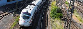 Neue Bahnstrecke Berlin-München: Dobrindt und Huber testen den Turbo-ICE