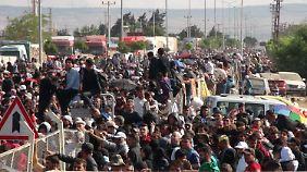 Immer mehr Syrer kehren in ihre Dörfer und Städte zurück.
