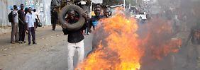 Gewaltproteste und Manipulationsvorwürfe: Kenyatta gewinnt Präsidentschaftswahl in Kenia