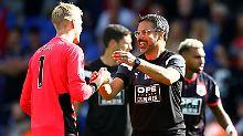 Gelungener Auftakt: David Wagner und Huddersfield Town.