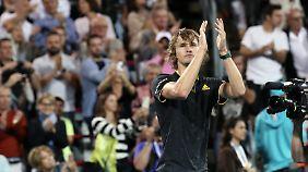Alexander Zverev ist nicht zu stoppen: Der deutsche Tennisprofi eilt auch in Montreal von Sieg zu Sieg.