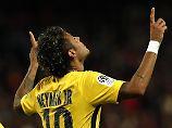 Real und PSG siegen: Ronaldo mit Gelb-Rot - Neymar überragend