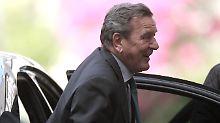 """Gerhard Schröder ist Kandidat für den Posten des """"unabhängigen Direktors"""" bei Rosneft."""