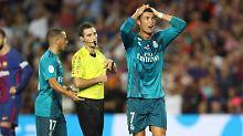 """Urteil wegen """"leichter Gewalt"""": Ronaldo wird für Schiri-Schubser bestraft"""
