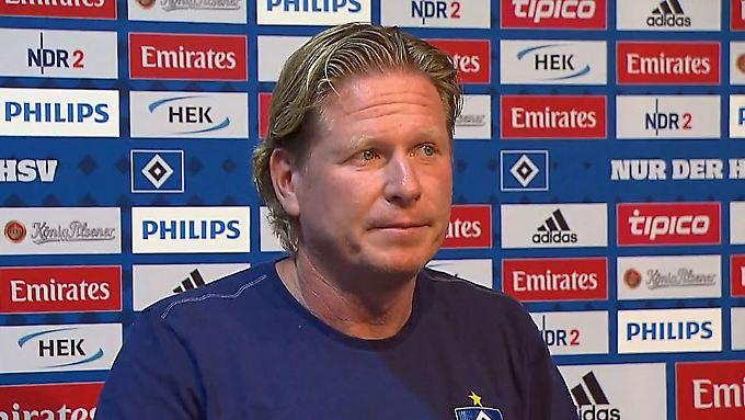 """Gisdol zu HSV-Debakel im Pokal: """"Schlüssel war, dass wir nicht zu null gespielt haben"""""""