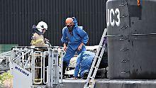 Wo ist Journalistin Kim Wall?: Kapitän versenkte U-Boot wohl absichtlich