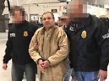 """Frau und Töchter im Gericht: """"El Chapo"""" bangt um private Anwälte"""