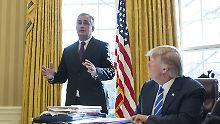 Nach Merck-Chef folgen weitere: Firmenchefs verlassen Trumps Beraterteam