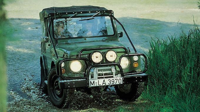 Macht im Gelände eine gute Figur, auf dem Prüfstand eher nicht: der Suzuki Jimny.