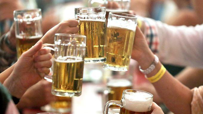 Glyphosat ist noch vorhanden - allerdings kann man trotzdem unbesorgt Bier trinken.