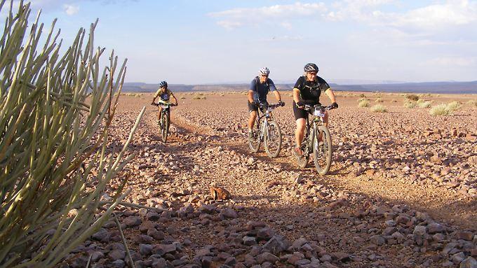 Radfahren geht nur, bevor die Tage zu heiß werden.