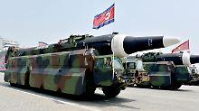 Hilfe für Nordkoreas Atomwaffen: USA verhängen Sanktionen gegen Firmen