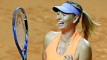 Der Sport-Tag: Maria Scharapowa erhält Wildcard für US Open
