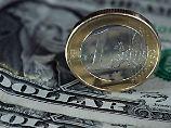 Der Euro hat zum US-Dollar zuletzt kräftig zugelegt.
