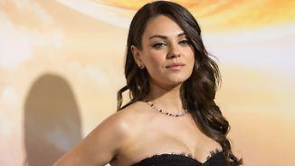 Promi-News des Tages: Mila Kunis entschuldigt sich bei ihren Kindern