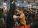 Der Sport-Tag: Fan schreibt Lied über Kämpfer McGregor - und gewinnt Reise