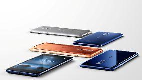 Neustart mit High-End-Smartphone: Nokia 8 greift Samsung und Apple an