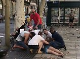 """""""Menschen weinten"""": Zeugen berichten von Panik auf der Rambla"""