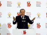 Eine Frage der Ehre: Erdogan: Nicht CDU und SPD wählen