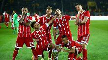 So läuft der Bundesliga-Auftakt: Bayern-Granätchen grätschen Big Brother ab
