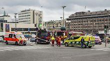 Mann greift mehrere Menschen an: Zwei Tote bei Messerattacke in Finnland