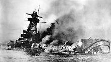Versunkenes Panzerschiff-Wrack: Uruguay will Nazi-Symbol verkaufen