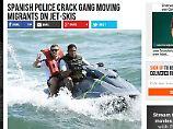 Die rechte Seite Breitbart.com hat ein Foto von Fußball-Weltmeister Lukas Podolski für eine Meldung über illegale Schlepperbanden verwendet.