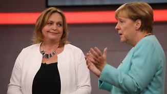 """Unmut in der Bürgersprechstunde: """"Frau Merkel, das reicht mir nicht"""""""