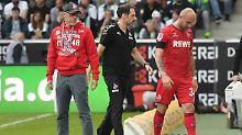 Hängende Köpfe bei den Kölnern - und das nach einem Sommer mit Europa-League-Euphorie.