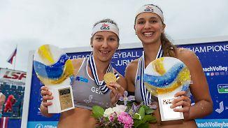 Beachvolleyball-Duo ohne Zukunft: Glenzke und Großner gewinnen sensationell EM-Gold
