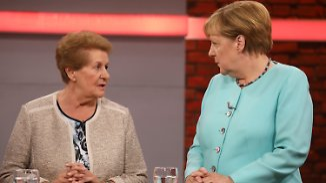 Dieselskandal, Altersarmut, Integration: Merkel stellt sich Bürgerfragen bei Townhall-Meeting