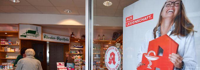 """""""Es tut weh"""": Experten beklagen Apothekensterben"""