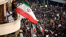 Der Tag: USA verschärfen Sanktionen gegen Iran