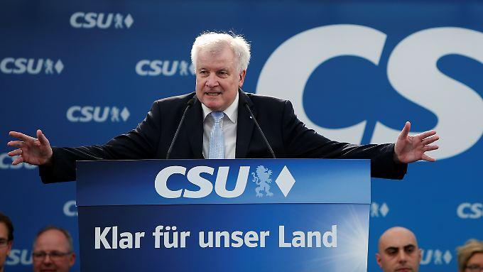 Seehofer sagte, die CSU werde bei der Landtagswahl 2018 auch an ihren gehaltenen Versprechen gemessen.