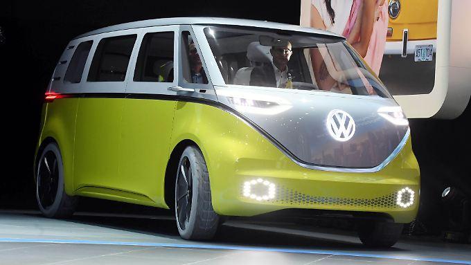 Ab 2022 soll der Retro-Van in den Autohäusern stehen.